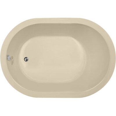 Designer Malia 60 x 32 Soaking Bathtub Finish: Bone