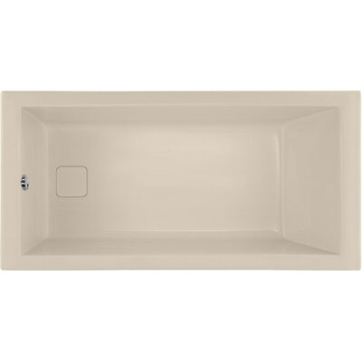 Designer Marlie 60 x 32 Soaking Bathtub Finish: Almond