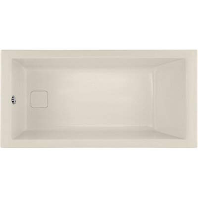 Designer Marlie 60 x 30 Soaking Bathtub Finish: Biscuit