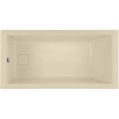 Designer Marlie 60 x 32 Soaking Bathtub Finish: Bone