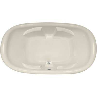 Designer Natalie 78 x 44 Soaking Bathtub Finish: Biscuit
