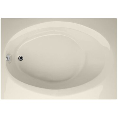 Designer Ovation 60 x 42 Soaking Bathtub Finish: Biscuit