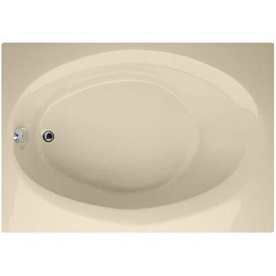 Designer Ovation 60 x 42 Soaking Bathtub Finish: Bone