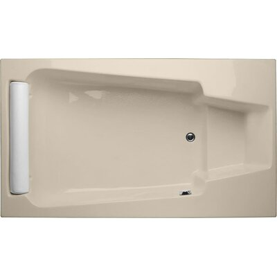 Designer Premier 72 x 36 Soaking Bathtub Finish: Almond