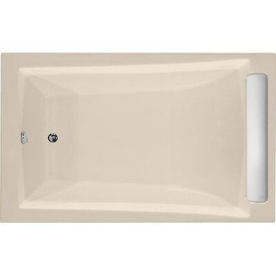 Designer Regal 70 x 34 Soaking Bathtub Finish: Almond