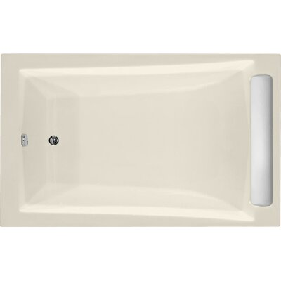 Designer Regal 70 x 34 Soaking Bathtub Finish: Biscuit