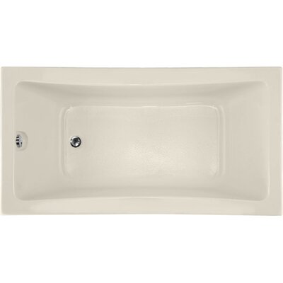 Designer Rosemarie 60 x 32 Soaking Bathtub Finish: Biscuit