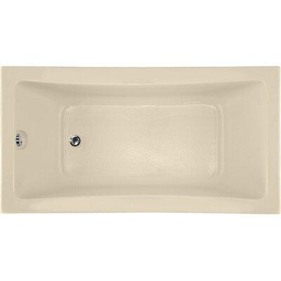 Designer Rosemarie 60 x 32 Soaking Bathtub Finish: Bone