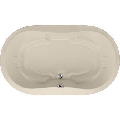 Designer Savannah 66 x 44 Soaking Bathtub Finish: Almond