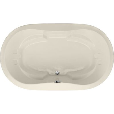Designer Savannah 66 x 44 Soaking Bathtub Finish: Biscuit