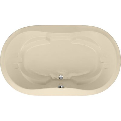 Designer Savannah 66 x 44 Soaking Bathtub Finish: Bone