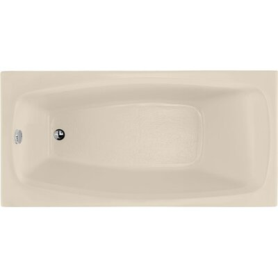 Designer Solitude 60 x 30 Soaking Bathtub Finish: Almond