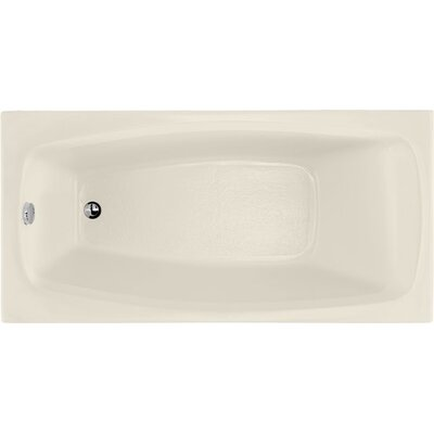 Designer Solitude 60 x 30 Soaking Bathtub Finish: Biscuit