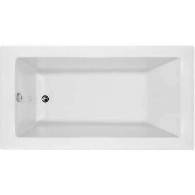 Designer Sydney 60 x 30 Soaking Bathtub Finish: White