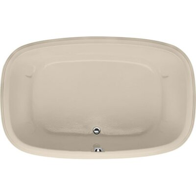 Designer Sylvia 60 x 38Soaking Bathtub Finish: Almond