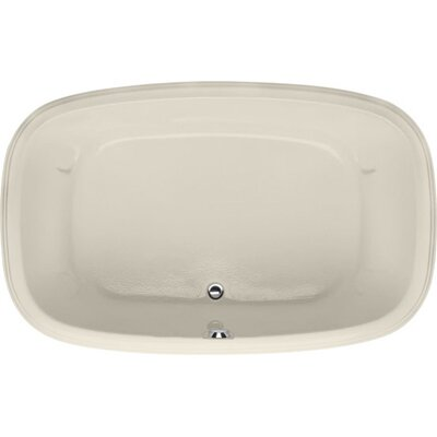 Designer Sylvia 60 x 38Soaking Bathtub Finish: Biscuit