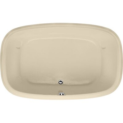 Designer Sylvia 60 x 38Soaking Bathtub Finish: Bone