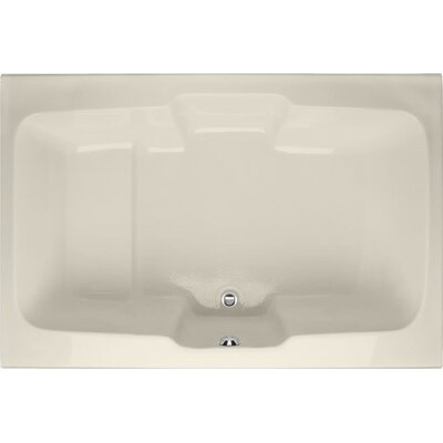 Designer Victoria 73 x 48Soaking Bathtub Finish: Biscuit
