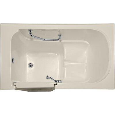 Life Style Series 52 x 30 Air Tub Finish: Biscuit