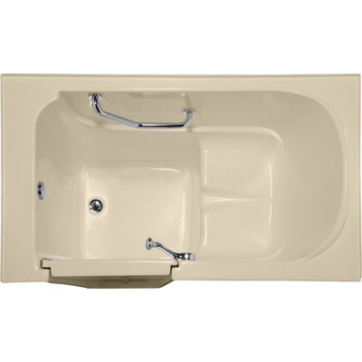Life Style Series 52 x 30 Air Tub Finish: Bone