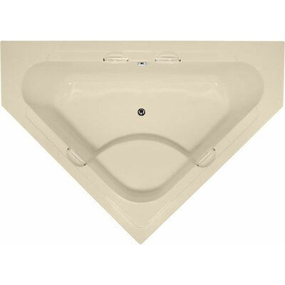 Designer Whitney 62 x 62 Soaking Bathtub Finish: Bone
