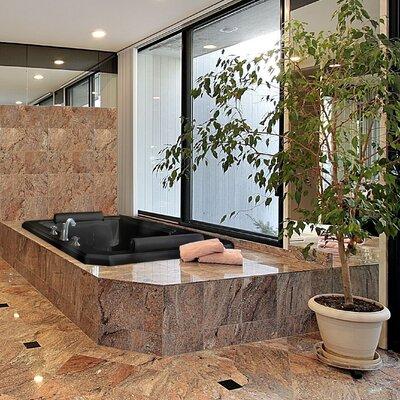 Designer Mystique 78 x 44 Soaking Bathtub Finish: White