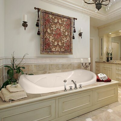 Designer Natalie 78 x 44 Air Tub Finish: White