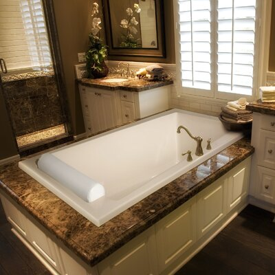 Designer Regal 70 x 43 Soaking Bathtub Finish: Almond