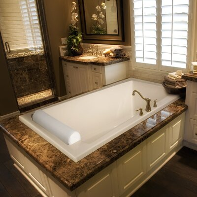 Designer Regal 70 x 43 Soaking Bathtub Finish: Bone