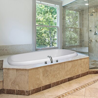 Designer Sylvia 66 x 38 Air Tub Finish: Almond