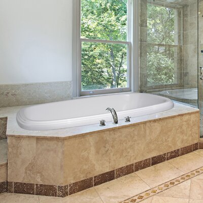 Designer Sylvia 60 x 38 Air Tub Finish: White