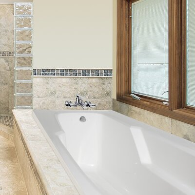 Designer Entre 60 x 32 Soaking Bathtub Finish: Almond