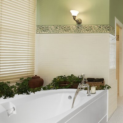 Builder Marie 60 x 42 Soaking Bathtub Finish: White