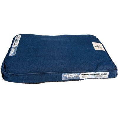 Denim Wash Dog Bed Color: Denim Blue