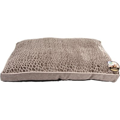 Stone Mink/Ross Linen Dog Bed