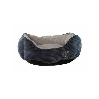 Luxurious Corduroy Dog Cuddler Color: Stonewash Blue