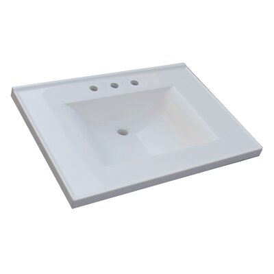 "SAGEHILL Premier 31"" Cultured Marble Vanity Top"
