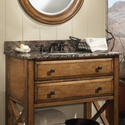 Granite 37 Single Bathroom Vanity Top Finish: Desert Beige