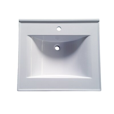 Premier Cultured 25 Bathroom Single Vanity Top