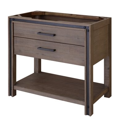 Urban Metallo 36 Bathroom Vanity Base