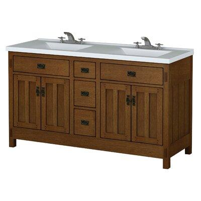 American Craftsman 60 Bathroom Vanity Base