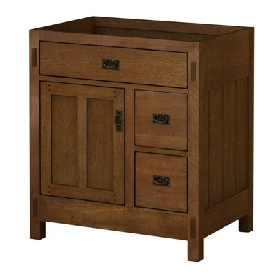 American Craftsman 30 Bathroom Vanity Base