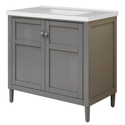 Harper 37 Single Bathroom Vanity Set with Integrated Sink