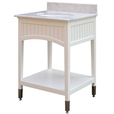 Seaside 25 Single Bathroom Vanity Set