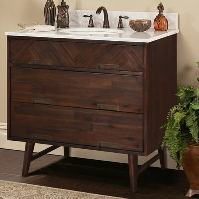 Parkett 36 Bathroom Vanity Base