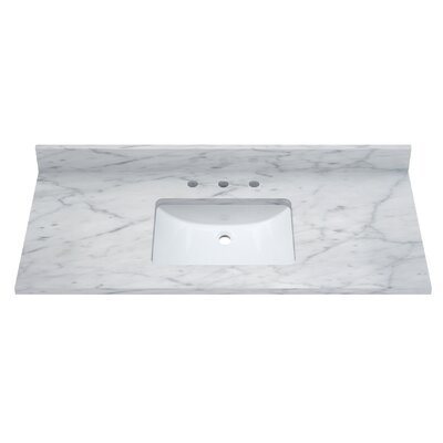 Carrara 49 Single Bathroom Vanity Top