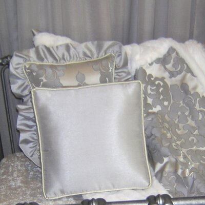 Sterling Solid Throw Pillow