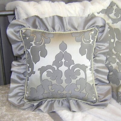 Sterling Ruffle Cotton Throw Pillow