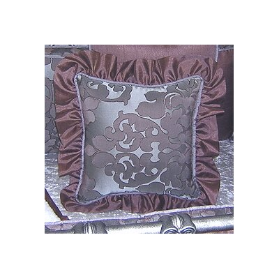 Chandler Ruffled Cotton Throw Pillow