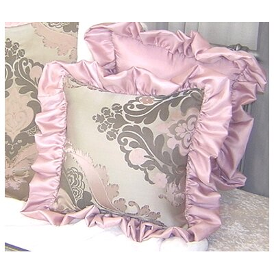 Champagne Cotton Throw Pillow